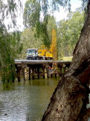 Under Bridge | EWP Hire Gold Coast