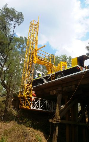 Gold Coast Under Bridge | EWP Hire